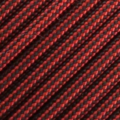 Corde 3mm Rouge Noir