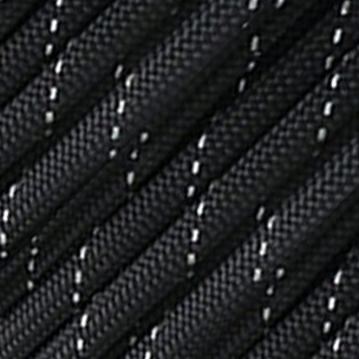 Corde 3mm Noir Moucheté Blanc Marin