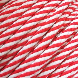 Corde – Rouge et blanc